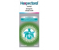 Hexpectoral Mentol 20mg/ml x 150 ml, Johnson