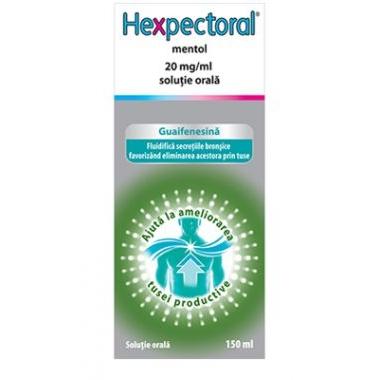 Hexpectoral Mentol 20mg/ml x 150 ml, Johnson