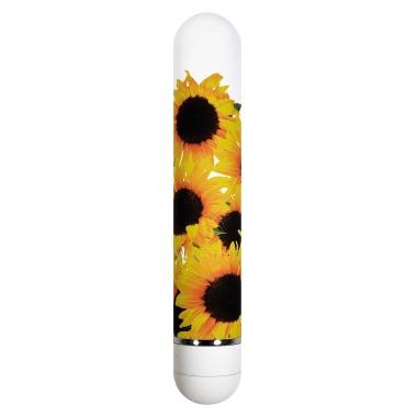 Vibrator model floral floarea soarelui ToyJoy