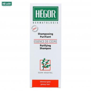 Hegor Sampon purifiant cu esenta de Cedru, 300 ml