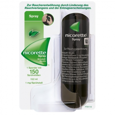 Nicorette spray 1 mg 13.2 ml