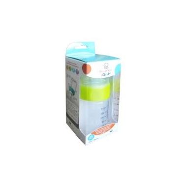 Biberon cu sistem de ventilatie si tetina de silicon x 220 ml,Sun Wave Pharma