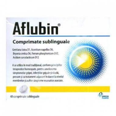 Aflubin comprimate sublinguale x 12 cpr