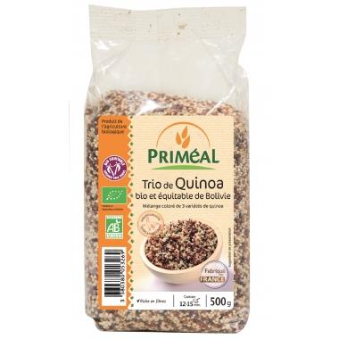 Trio de quinoa bio 500 g