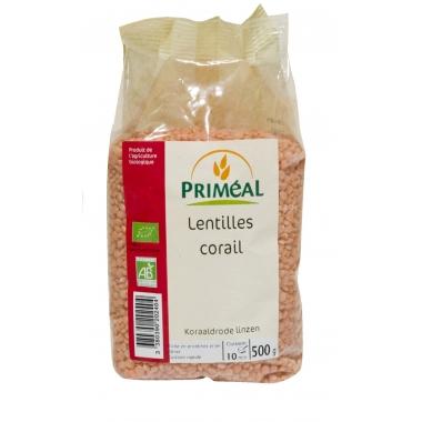 Linte coral bio 500 g