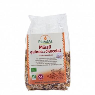 Muesli quinoa & ciocolata bio 350g