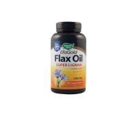 Flax Oil Super Lignan 1300 mg x 100 cps, Secom