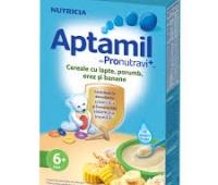 Aptamil porumb, orez, banana x 225 gr,Nutricia