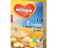 Milupa Vise Placute 7 cereale cu mere fara zahar x 250 gr