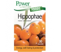Power of Nature Foods Hippophae - Extract de Catina x 30 cps,Power Health