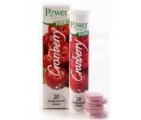 Power of Nature Cranberry x 20 tb efferv