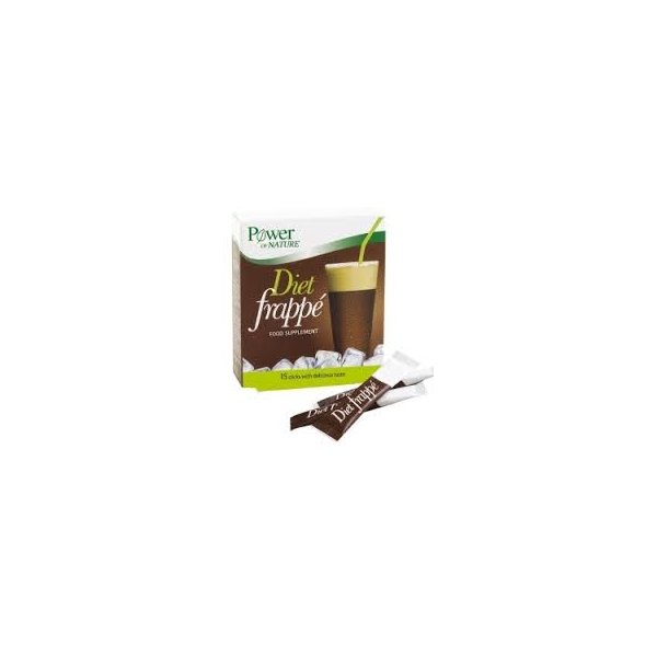Power of Nature Diet frappe cafea verde x 15 plicuri