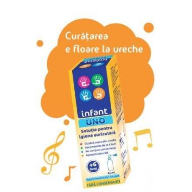 Infant Uno solutie auriculara x 40 ml,Solacium