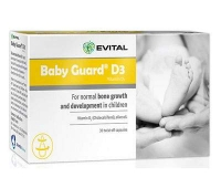Evital Baby Guard D3 x 30 capsule, Curtis