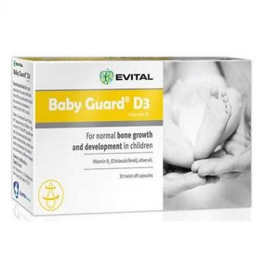 Evital Baby Guard D3 x 30 capsule, Curtis