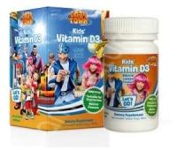 Vitamina C 80 mg Lazy Town x60cps + Vit D3 x 120 cpr+pestisor