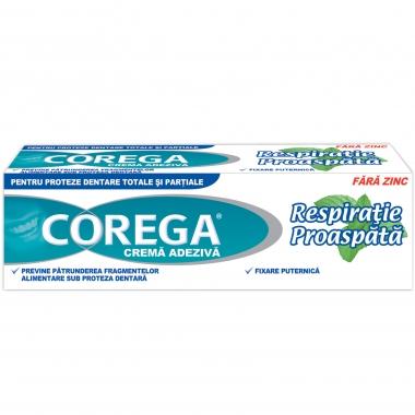 Corega Respiratie proaspata x 40 ml 1+1 oferta