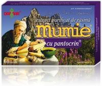 Mumie extract rasina+pantocrin x 60 cpr, Damar