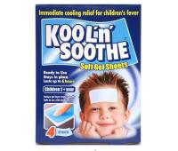 Kool'n Soothe Kids x 4 plasturi