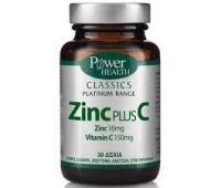 Power of Nature Zinc plus C x 30 cps, Power Health