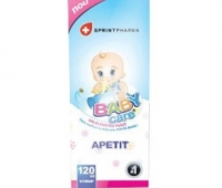 Baby Care apetit x 120 ml, Sprint Pharma