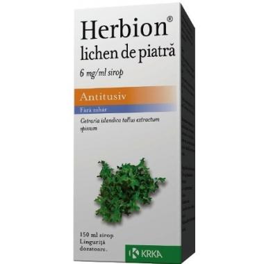 Herbion lichen de piatra 6 mg/ml x150 ml