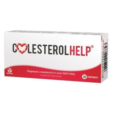 Colesterol Help x 30 cps,Biofarm