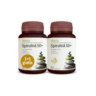 Spirulina 50+ x 30 cps 1+1 oferta