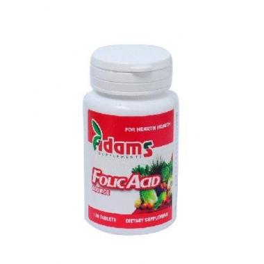 Acid folic 400µg 120 cpr
