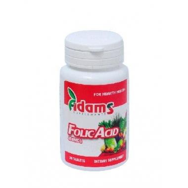 Acid folic 400µg 30 cpr