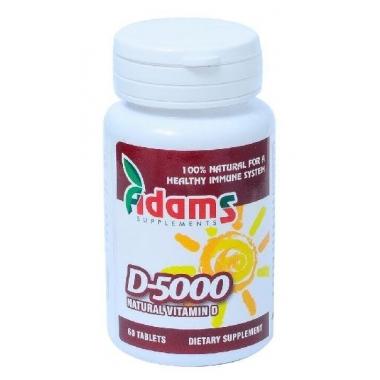 Vitamina D-5000 60cpr