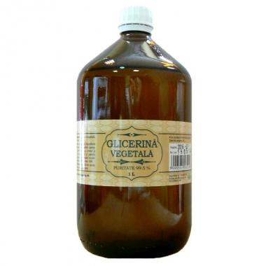 Glicerina vegetala puritate 99,5% 1l