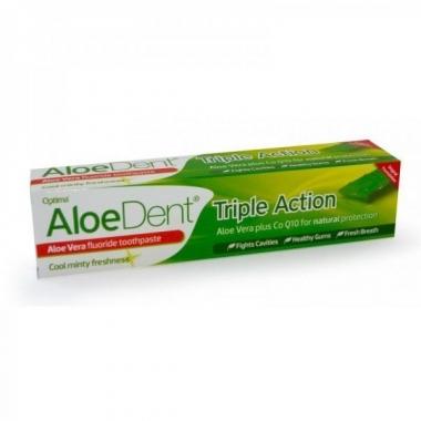 Pasta de dinti Triple action aloe+coenzima Q10 100ml