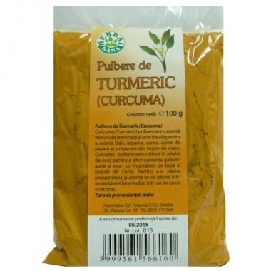 Turmeric (curcuma) pulbere 100g