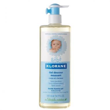 Klorane Bebe gel spumant corp 500ml