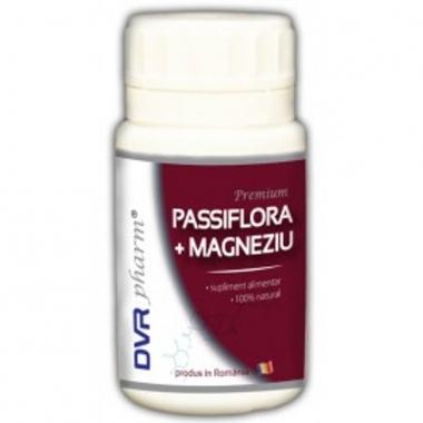 Passiflora + Magneziu 60cps