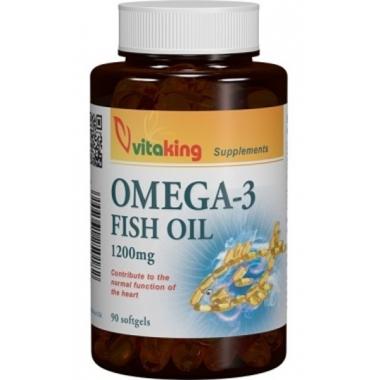 Omega 3 ulei de peste 1200mg 100cps