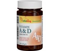 Vitamina A & D 60cps