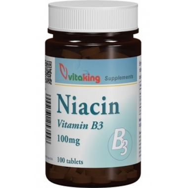 Vitamina B3 (Niacina) 100mg 100cpr