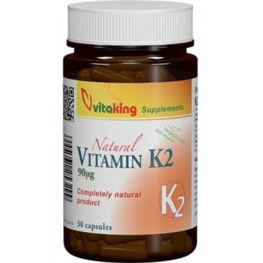 Vitamina K2 90mcg 30cps