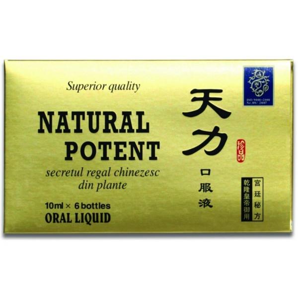 Natural Potent x 6 fiole 5 cutii+1 gratis
