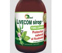 Livecom sirop fara zahar x 100 ml