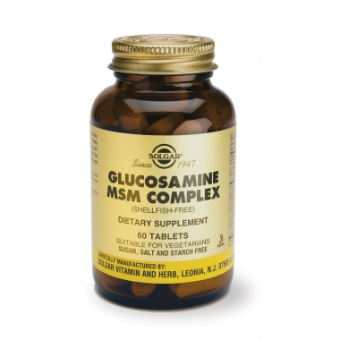 Glucosamine MSM complex (shell-free) tabs 60s