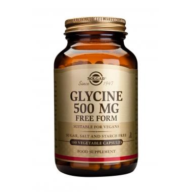 Glycine 500mg veg. caps 100s
