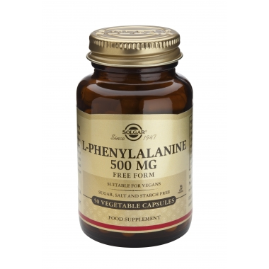 L-Phenylalanine 500mg veg. caps 50s