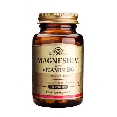 Magnesium + B6 tabs 100s