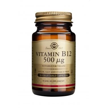 Vitamin B-12 500mcg tabs 50s