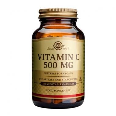 Vitamin C 500mg veg. cas 100s