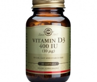 Vitamin D3 400IU softgels 100s