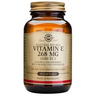 Vitamin E 400IU softgels 50s